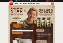 Spice Islands Cook With a Star Sweepstakes - FoodNetwork.com/CookWithAStar