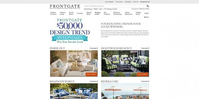 Frontgate Trend Sweepstakes
