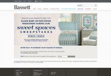 Bassett Sweet Spaces Sweepstakes