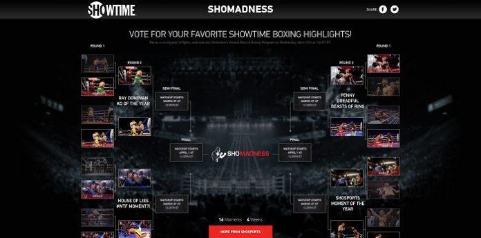 SHOMadness Sweepstakes (SHOMadness.com)
