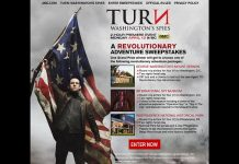 TURN: Washington's Spies A Revolutionary Adventure Sweepstakes (AMC.com/TURNSweeps)