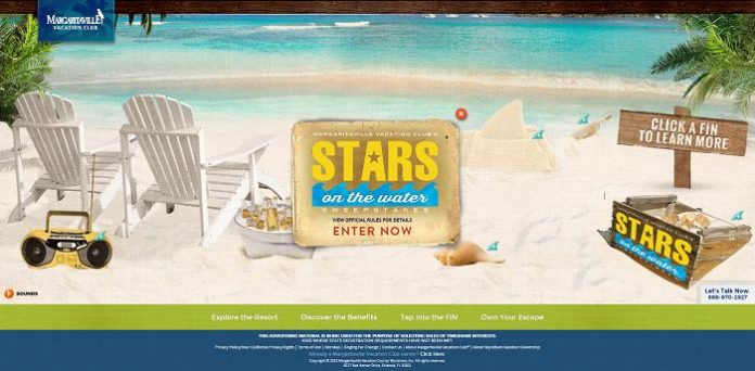 Margaritaville Vacation Club Stars On The Water Sweepstakes