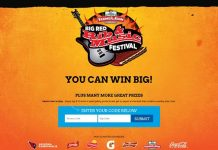 Albertsons Big Red Rib & Music Festival Sweepstakes (BigRedRibSweeps.com/ALB)