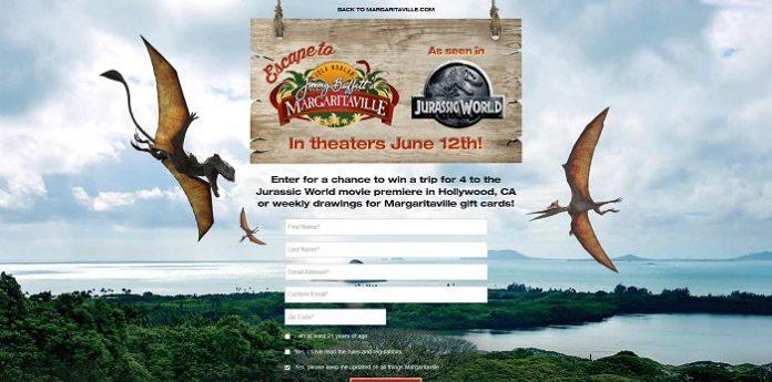 Margaritaville Jurassic World