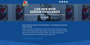 Pepsi Challenge: Live For Now Design Contest