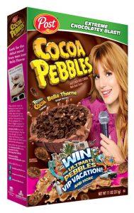 cocoa pebbles Bella Thorne