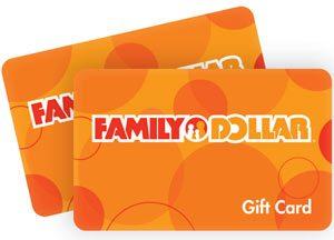 family dollar gift card