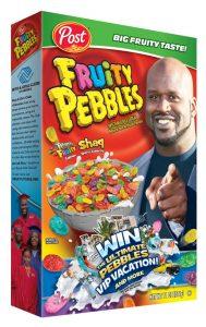 fruity pebbles Shaq