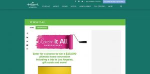HallmarkChannel.com/RenewItAll - Hallmark Channel Renew It All Sweepstakes