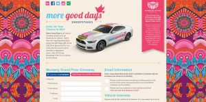 Ford Warriors in Pink More Good Days Sweepstakes