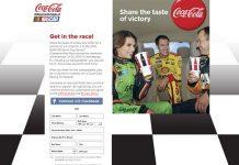 Gatti's Pizza Race Day Promotion (Coca-ColaRaceDay.com)