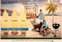 MalibuDreamGetaway.com - Two And A Half Men SweepSTEAKS
