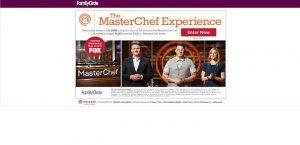FamilyCircle.com/MasterChef - MasterChef Experience Sweepstakes