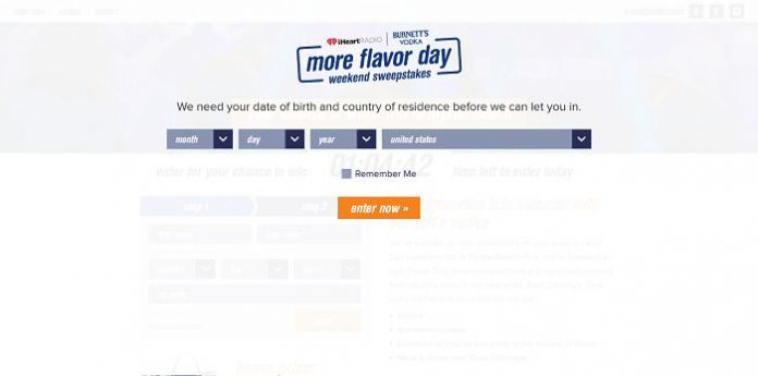 More Flavor Day Weekend Sweepstakes (MoreFlavorDayWeekend.com)