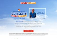 Family Dollar The Ultimate Family Reunion Contest (FamilyDollar.com/Reunion)