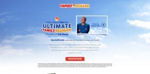 Family Dollar The Ultimate Family Reunion Contest (FamilyDollar.com/Reunion)