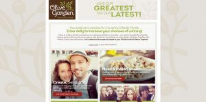 Olive Garden eCard Better Together Sweepstakes and Instant Win