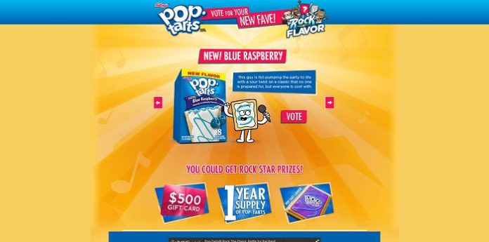 RockTheFlavor.com - Kellogg's Pop-Tarts Rock the Flavor Online Instant Win Game
