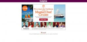FamilyCircle.com/MasterChef - Family Circle Sail Away with MasterChef Sweepstakes 2016
