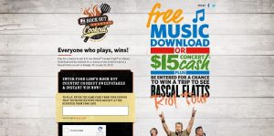 FoodLion.com/CountryCookout - Food Lion Rock Out Country Cookout Sweepstakes And Instant Win