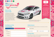 Ford Warriors in Pink Sweepstakes 2016