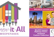 HallmarkChannel.com/RenewItAll - Hallmark Channel Renew It All Sweepstakes 2016