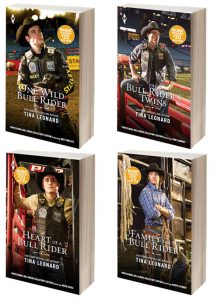 Professional Bull Riders Collector's Edition romances by Tina Leonard