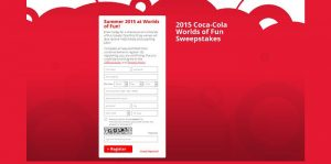 2015 Coca-Cola Worlds of Fun Sweepstakes