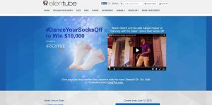 EllenTube.com/GoldToe - Ellen's Dance Your Socks Off Contest
