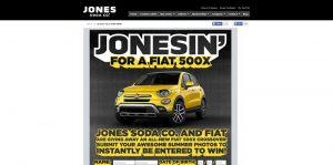 Jones Soda Jonesin For A Fiat 500X Contest