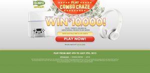 2015 Blimpie Combo Craze Contest (Blimpie.com/Play)