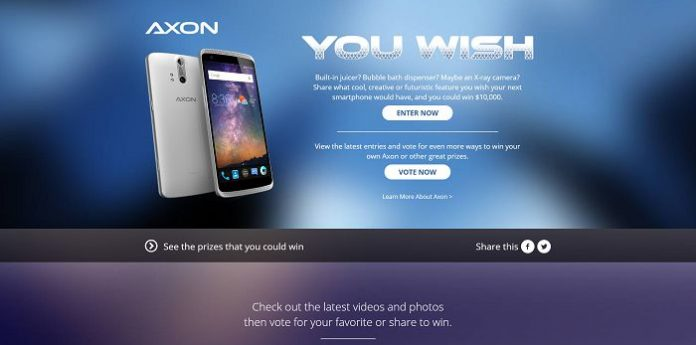 Axon You Wish Promotion