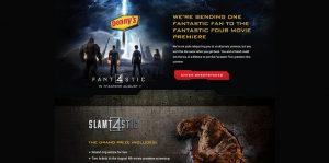 DennysFantastic4.com - Denny's Fantastic Four Sweepstakes