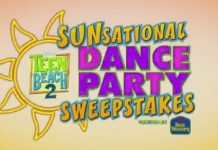 Disney Channel Teen Beach 2 Sunsational Dance Party Sweepstakes