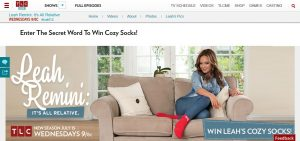 TLC's Leah Cozy Socks Sweepstakes (TLC.com/Leah)