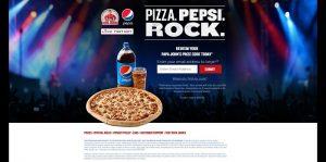 PJPizzaPepsiRocks.com - Papa John's Pepsi Pizza Pepsi Rock