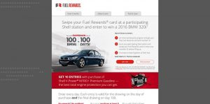 Shell.us/Win - Shell BMW Sweepstakes