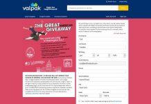 Valpak Great American Giveaway (Valpak.com/Travel)