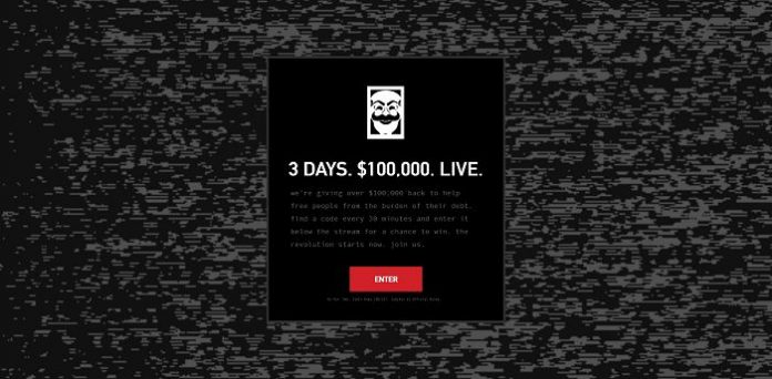 USA Network's Mr. Robot Delete Debt Premiere Sweepstakes (WhoIsMrRobot.com/Live)