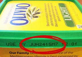 olivio date code