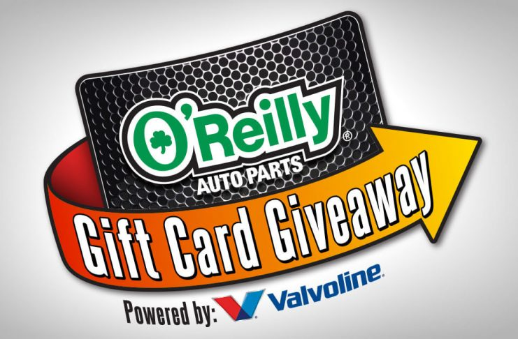O'Reilly Gift Card Giveaway 2017 (OReillySweeps.com)