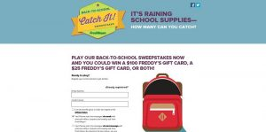 Fred Meyer Back to School Sweepstakes