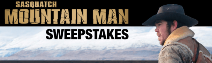 BassPro.com/MountainManSweeps - Bass Pro Shops Sasquatch Mountain Man Sweepstakes