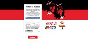KrystalRaceDaySweeps.com - Coca-Cola and Krystal with Advance Auto Parts Race Day Sweepstakes