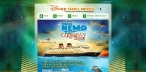 Disney Family Movies Finding Nemo Caribbean Cruise Getaway Sweepstakes
