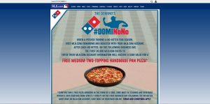 MLB.com DomiNoNo Promotion