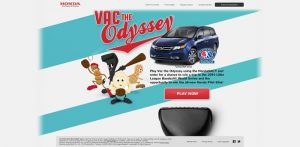 Honda Vac The Odyssey Sweepstakes