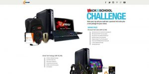 Newegg Hack to School Challenge