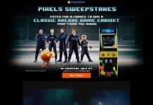 Fandango's Pixels Sweepstakes