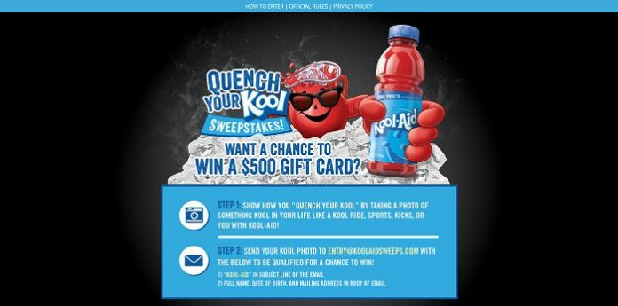KoolAidSweeps.com - Quench Your Kool Sweepstakes